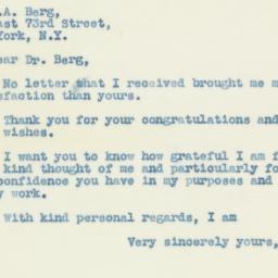 Letter : 1938 October 9