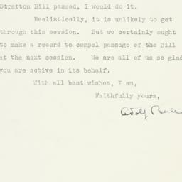 Letter: 1947 June 23