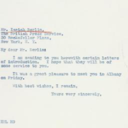 Letter : 1941 February 24