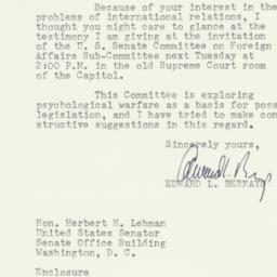 Letter : 1953 March 27