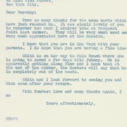 Letter : 1935 January 26