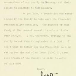 Letter : 1937 November 17