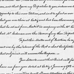 Document, 1786 January 26