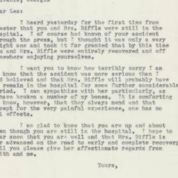 Letter : 1953 April 9