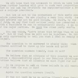 Speech: 1948 April 3