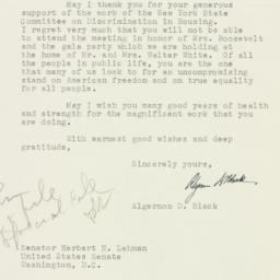 Letter : 1953 December 16