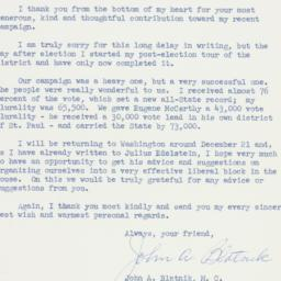 Letter : 1958 December 12