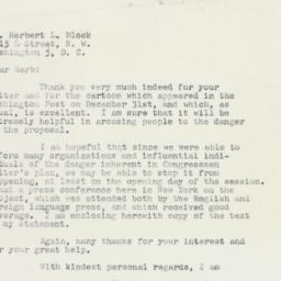 Letter: 1959 January 5