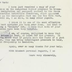Letter : 1959 January 8
