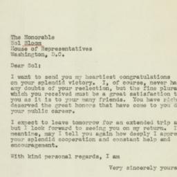 Letter: 1944 November 10