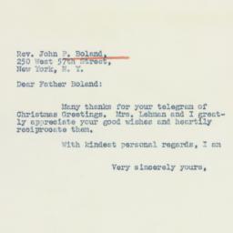 Letter : 1942 January 3