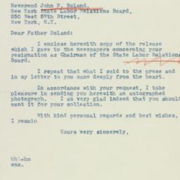 Letter : 1942 November 16