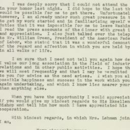 Letter : 1942 December 10