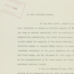 Letter: 1946 March 12