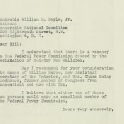 Letter : 1951 June 11