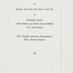 Speech : 1936 December 6