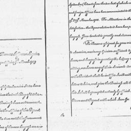 Document, 1789 March 09