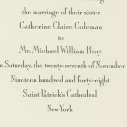 Letter : 1948 November 27