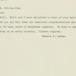 Telegram : 1948 November 29