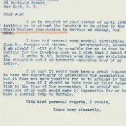 Letter : 1941 April 23