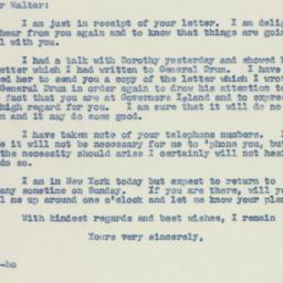 Letter : 1942 August 7