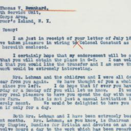 Letter : 1941 July 22
