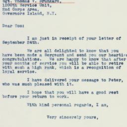 Letter : 1941 September 30