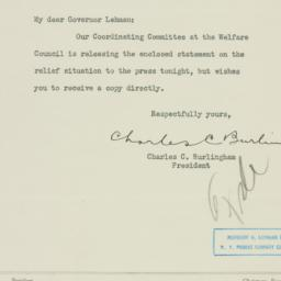 Letter : 1933 August 18