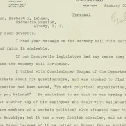 Letter : 1934 January 31