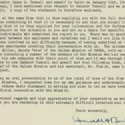 Letter: 1945 February 6