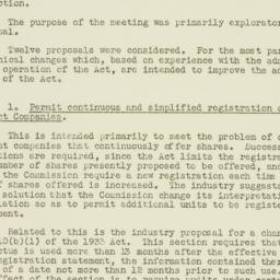 Memorandum : 1953 October 22
