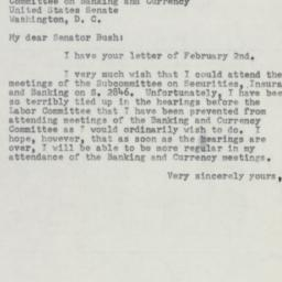 Letter : 1954 February 4