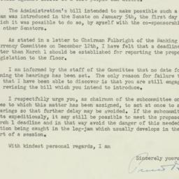 Letter : 1956 January 31