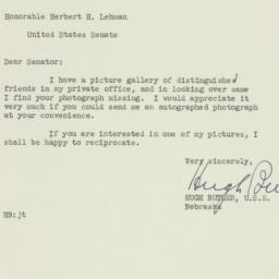 Letter : 1951 May 19