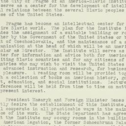 Letter: 1926 May 7