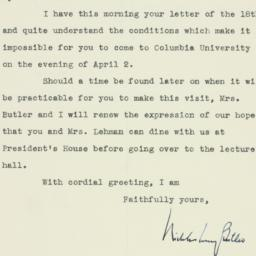 Letter : 1940 March 19