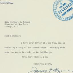 Letter : 1940 June 10