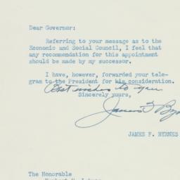 Letter : 1947 January 9