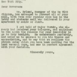Letter : 1930 February 13