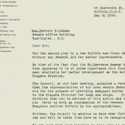 Letter : 1954 May 20