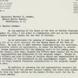 Letter : 1954 December 20