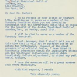 Letter : 1941 February 15