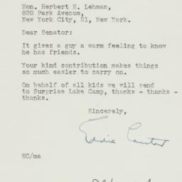 Letter : 1950 February 9