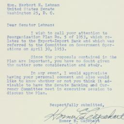 Letter: 1953 May 22