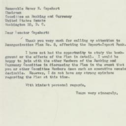 Letter : 1953 May 27
