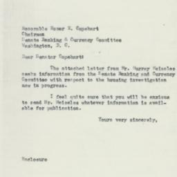 Letter: 1954 July 26