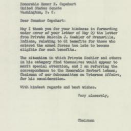 Letter: 1956 June 4