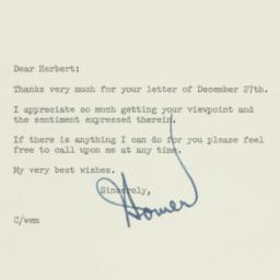 Letter: 1957 January 3