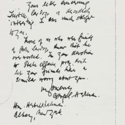 Letter : 1939 June 7