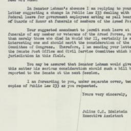 Letter : 1953 November 24